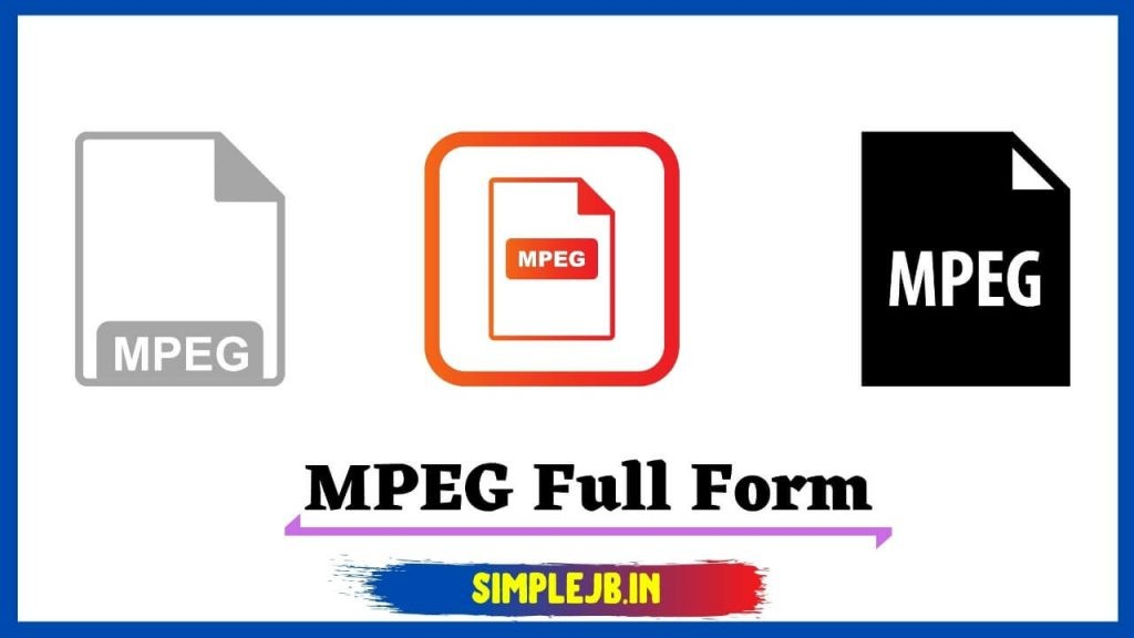 What-is-mpeg-full-form