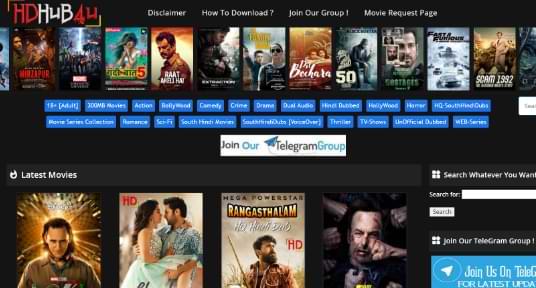 HDhub4u 2021: Download Latest Bollywood & Hollywood HD Movies