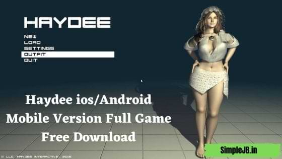 Haydee ios/Android Mobile Version Full Game Free Download