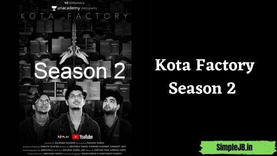 Kota Factory Season 2 Web series 480p, 360p filmywap