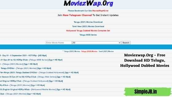 Moviezwap.Org - Free Download HD Telugu, Hollywood Dubbed Movies