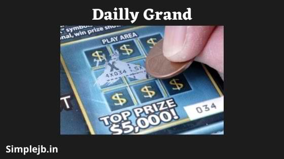 Daily Grand Winning Numbers