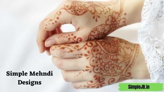 Top 11 Simple Mehndi Designs